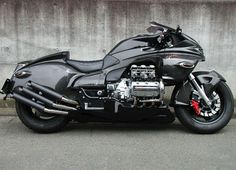 Atari-san Kustom chopper works: Whitehouse japan Honda Valkyrie