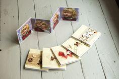 Set di 5 Minibook Album per foto Piccoli album di Fotosintesi #fotosintesi #album #handmade #photobook