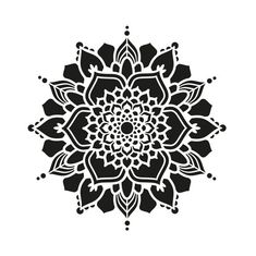 Mandala Design, Geometric Mandala Tattoo, Geometric Logo, Mandala Art, Airbrush, Neutral Art, Pop Art Wallpaper, Mandala Stencils, Silhouette Art