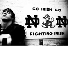 "Love me some Brady Quinn! Like the Irish? Be sure to check out and ""LIKE"" my Facebook Page https://www.facebook.com/HereComestheIrish Please be sure to upload and share any personal pictures of your Notre Dame experience with your fellow Irish fans!"