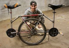 two-seater unicycle!