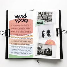 Ali Edwards Design Inc. Scrapbook Journal, Journal Layout, Travel Scrapbook, Journal Pages, Art Inspo, Art Journal Inspiration, Planner Bullet Journal, Décoration Harry Potter, Journal Aesthetic