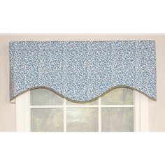 "RLF Home Coral Reef Cornice 50"" Curtain Valance Color:"