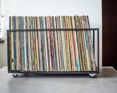 Record Crate | Record Storage | Storage on Wheels | Pinterest | Record storage Crates and Storage & Record Crate | Record Storage | Storage on Wheels | Pinterest ...