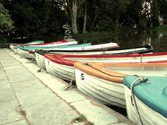 os barquinhos do parque D. Carlos nas Caldas da Rainha