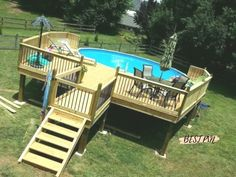 Here are 40 Amazing Backyard Pool Ideas Incredible Pool Designs That Will Make A Splash In Your Backyard Landscaping. tags: backyard ideas, swimming pool design, backyard pool ideas on budget, small backyard pool, backyard pool lanscaping. Above Ground Pool Landscaping, Small Backyard Pools, Backyard Pool Designs, Outdoor Pool, Backyard Pool Landscaping, Backyard Ideas, Outdoor Decor, Oval Above Ground Pools, Above Ground Swimming Pools