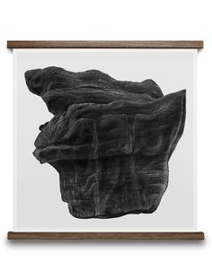 ROCK 50/50 B BY BØRGE BREDENBEKK. Buy print at https://paper-collective.com/product/rock-5050-b/ #papercollective #art #illustration #drawing #nature #monochrome #grey #print #poster #posterdesign #design #interior #home #decor #homedecor #wallart #artprint