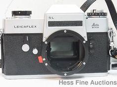 Minty Leicaflex SL One Stroke Wetzlar 1240853 German Camera no reserve #Leitz