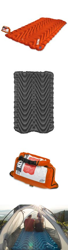 Mattresses and Pads 36114: Klymit Static Insulated Double V Sleeping Pad Orange Two-Person Camping New -> BUY IT NOW ONLY: $159.95 on eBay!