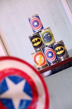 Anniversaire de super-héros. Décoration | Avengers www.deuxsoeursunagenda,com