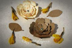 Papírvirág ültetőkártya, választható színnel és felirattal. www.papierandpape... Facebook: SeyemPapier Esküvői Dekoráció