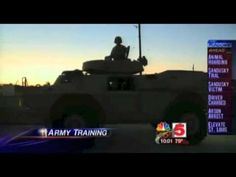 St Louis City residents have been warned to not be alarmed at the sight of U.S. Army tanks rolling down residential neighborhoods after sightings of the vehicles provoked fears of martial law.    The exercise is part of a U.S. Army program run by military police from Fort Meade, Maryland focused around training MPs from St. Louis how to drive heav...