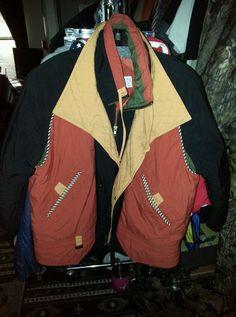 Jacket Coat-L-Apres Sport, Multi-Color, puffy, warm, fall, winter, great colors - Ebay ID's tigerllc24 & debpark94_attic #FallWinterpuffywarm
