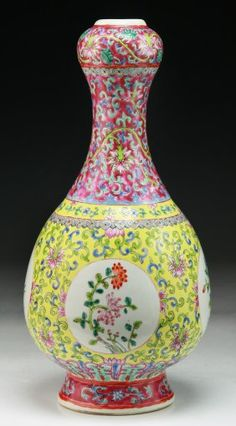 www.liveauctioneers.com item 26237748_a-chinese-antique-famille-rose-porcelain-vase
