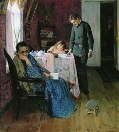 """Again failed"""", 1891 by Alexey Korin (1865-1923)"""