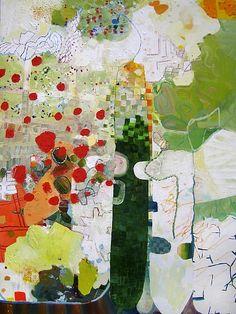 Josette Urso, ONE 2013, Oil on canvas