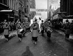 Winter carnival parade 1937