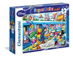 PUZZLE 24 PZ MAXI DISNEY TRAIN Clementoni puzzle - 24464