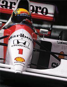 Senna 1992 Monaco F1GP, McLaren Honda MP4/7