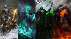 The Four Wallpapers of the Apocalypse by theDURRRRIAN.deviantart.com on @deviantART