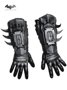 Men's Arkham Batman Deluxe Gloves Costume! See more costume ideas for Halloween and more at CostumeSuperCenter.com