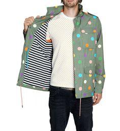 Happysocks limited edition  #HappySocks - Funky Colourful Socks For Men, Cool Design Socks Online! #polkadot Jacket