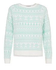 Shop the latest women's knitwear styles for discounted prices at New Look, think chunky knitwear, cosy cardigans and funnel neck jumpers. Christmas Jumpers, Christmas Shirts, Christmas Sweaters, Green Long Sleeve Shirt, Long Sleeve Sweater, Long Sleeve Shirts, Mint Sweater, Green Sweater