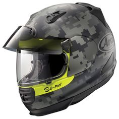 Designed specifically for the aesthetics and needs of street fighter and naked bike riders but with the added functionality of a built-in sun shade, the Arai...