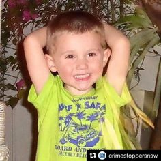 I can't even imagine the pain this family must be feeling. Please #GiveHimBack #BringHimBack  #Repost @crimestoppersnsw  The NSW Government has announced a $1 million reward for information that leads to the recovery of William Tyrrell.  About 10.30am on Friday 12 September 2014 William then aged three was playing in the yard of his grandmothers home on Benaroon Drive Kendall when he disappeared.  Within a few short hours hundreds of local residents and emergency service workers combined to…