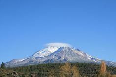 Shastina and Mt. Shasta from Yreka, CA