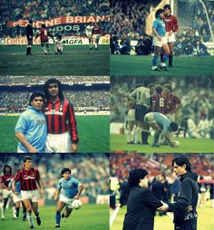 Maradona and Milan
