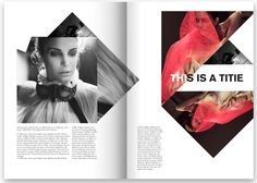 Maria Horn . #editorial #magazine # layout #design #print
