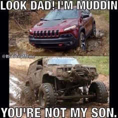 """It's A Jeep Meme. Dumbass new """"Cherokee"""" Jeep Meme, Jeep Jokes, Jeep Humor, Car Jokes, Car Humor, Jeep Funny, Jeep Xj, Jeep Cherokee Xj, Jeep Truck"""