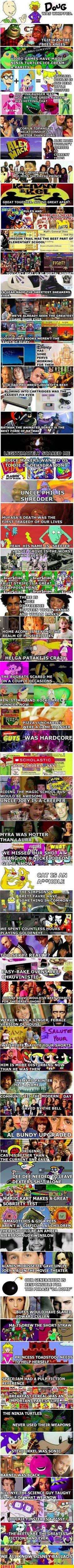 Ah, the 90's. I love my childhood.! This made me smile.  I miss these!