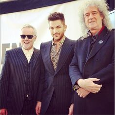 Adam Lambert And Queen Are Basically The Royal Glamily At This Point