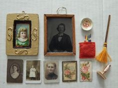 Antique/vintage dollhouse items. Now available in my Ruby Lane shop:  Kim's Doll Gems