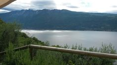 Oggi c'è brutto tempo sul Lago di Garda