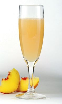 Perk Me Up Peach - 1/4 c peach nector, 1/4 c mango nector, 1/2 c peach seltzer chilled, 1 tsp grenadine --Mix first three ingredients in an ice filled glass.  Slowly pour grenadine down side of glass. Garnish