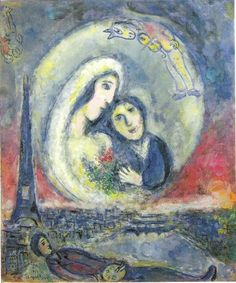 Marc chagall chagall pinterest marc chagall tableau for Biographie de marc chagall