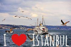 Контрастный солнечный Стамбул