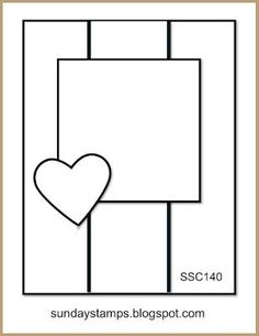 Sunday Stamps... Weekly Challenge: SSC140 Sketch Time
