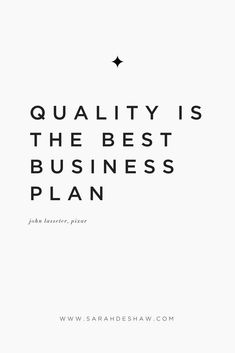 Quality is the best business plan.You can find Quality quotes and more on our website.Quality is the best business plan. Inspirational Quotes For Entrepreneurs, Entrepreneur Quotes, Motivational Quotes, Entrepreneur Inspiration, Online Entrepreneur, Business Inspiration, Inspiration Quotes, Inspiring Quotes, Business Growth Quotes