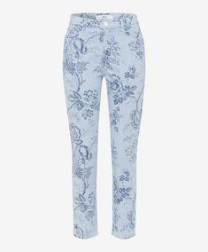 Dames Jeans Style Caro S clean light blue maat - Fashionchick. Mode Jeans, Jeans Style, Lady, Light Blue, Pajama Pants, Pajamas, Sweatpants, Lingerie, Collection