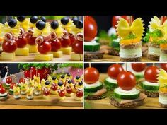 Snacks with star on top - bow and tomatoes Appetizer Dips, Appetizer Recipes, Antipasto Pasta Salads, Christmas Snacks, Snacks Für Party, Food Presentation, Afternoon Tea, Finger Foods, Healthy Snacks