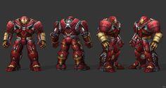 Future Fight - Hulkbuster by IshikaHiruma Iron Man Helmet, Iron Man Suit, Iron Man Armor, Marvel Comics, Marvel Art, Iron Heart Marvel, Injustice 2 Batman, War Machine Iron Man, Marvel Concept Art