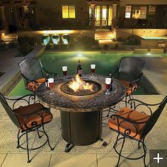 Outdoor Firepits By Frontgate - Style Estate -