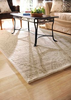 Glam up your room with a 100% wool rug #kirklands #glam+chic