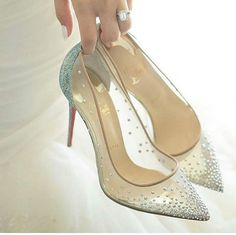 1949091aa10d These amazing shoes are giving us major Princess vibes tag your friend who  needs these gorgeous shoes on her wedding day!