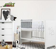 Confectionat din materiale de calitate superioara, acest patut de copii poate fi instalat in orice tip de camera, fiind usor de montat si intretinut. Suportul saltelei se poate regla pe 3 niveluri de inaltime, in functie de varsta micutului, cel superior fiind recomandat bebelusilor care inca nu se ridica in maini si genunchi. Cribs, Furniture, Home Decor, Products, Cots, Decoration Home, Bassinet, Room Decor, Baby Crib