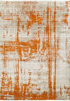 NEW introduction from Surya- light gray and orange abstract Jax rug (JAX-5032).